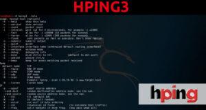Eina de seguretat del senyal Hping3