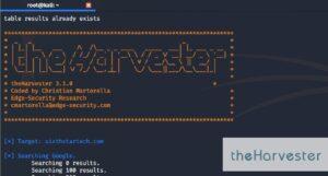 Theharvester Signal herramienta de seguridad