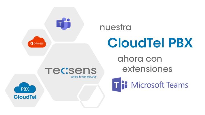 CloudTel PBX y MS Teams