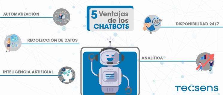 5 Vorteile von Chatbots
