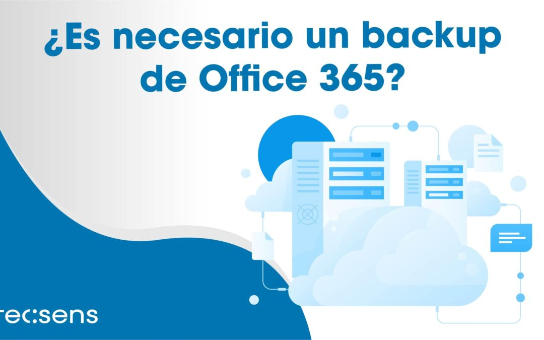 En necesario un backup de Office 365