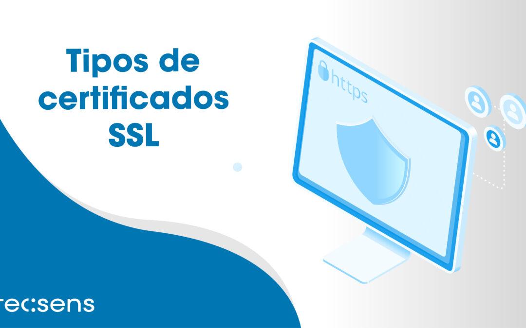 Tipus de certificats SSL: